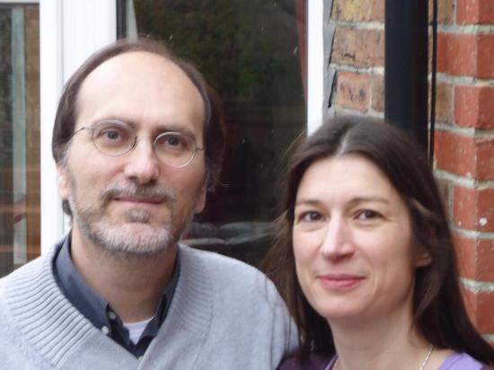 Christophe et Géraldine à Hôve