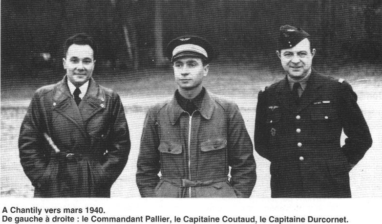 Qty G.PALLIER, cone and Coutaut Ducornet - Eagles March 1940