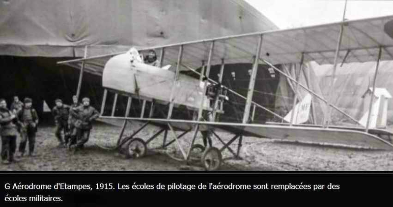 Ecole d aviation d etampes en 1915