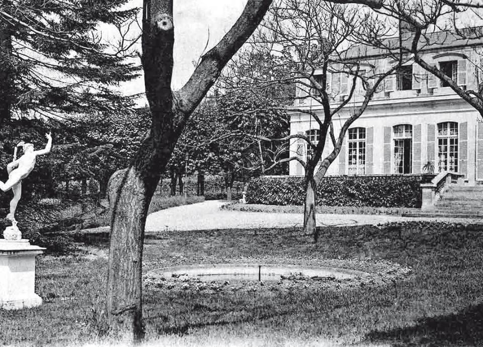 Le chateau d arnouville en 1901