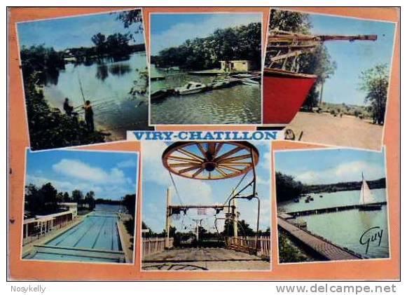 Le lac et la piscine de viry 2