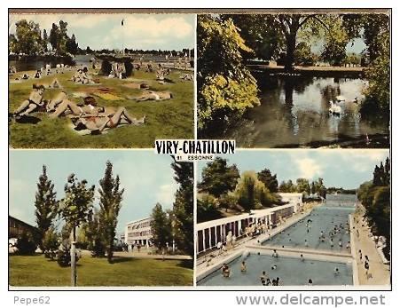 Le lac et la piscine de viry