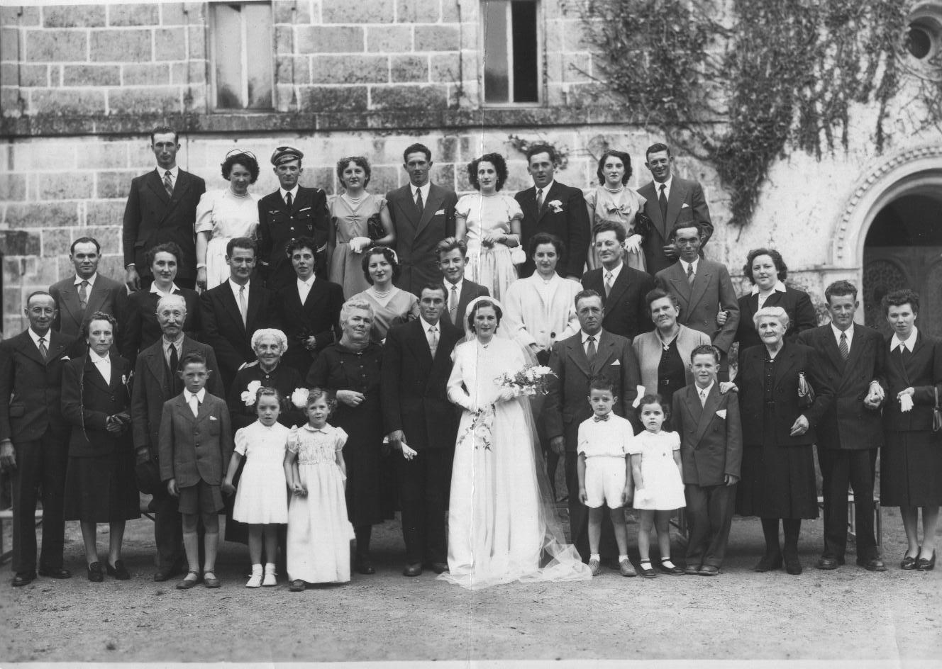 Le mariage de michel guilbert et de ghislaine