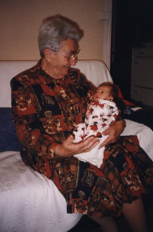 Suzanne et zoe octobre 1998