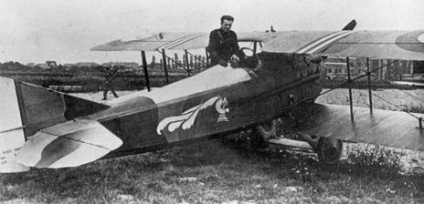 SPAD XIII of the SPA 15